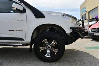 2013 Holden Colorado RG MY14 LT (4x4) White 6 Speed Automatic Crew Cab Pickup