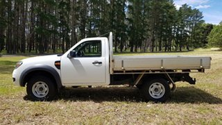2011 Ford Ranger PK XL Hi-Rider Cool White 5 Speed Manual Cab Chassis