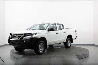 2018 Mitsubishi Triton MQ MY18 GLX (4x4) White 6 Speed Manual Dual Cab Utility