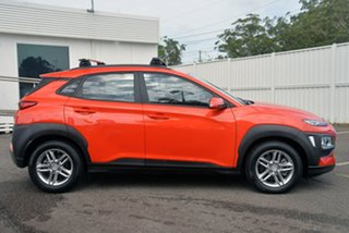 2018 Hyundai Kona OS.2 MY19 Active D-CT AWD Orange 7 Speed Sports Automatic Dual Clutch Wagon.