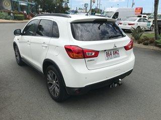 2016 Mitsubishi ASX XB MY15.5 LS 2WD White 6 speed Automatic Wagon