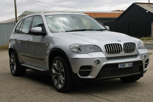 Used BMW X5 E70 MY12 xDrive 30d M Sport L.E West Footscray, 2013 BMW X5 E70 MY12 xDrive 30d M Sport L.E. 8 Speed Automatic Sequential Wagon