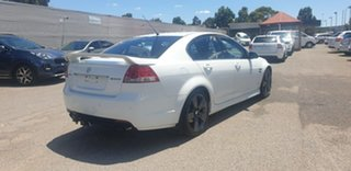 2012 Holden Commodore VE II MY12.5 SV6 Z Series White 6 Speed Sports Automatic Sedan.