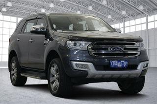 2017 Ford Everest UA Titanium Grey 6 Speed Sports Automatic SUV.