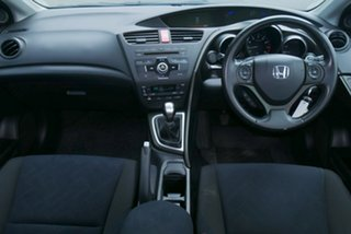 2013 Honda Civic 9th Gen MY13 VTi-S White 6 Speed Manual Hatchback