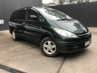 2000 Toyota Estima G 3.o litre Green 6 Speed Automatic Van.