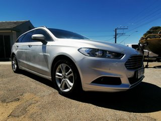 2015 Ford Mondeo MD Ambiente TDCi Silver 6 Speed Automatic Wagon.