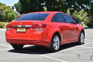 2015 Holden Cruze JH Series II MY15 Equipe Red 6 Speed Sports Automatic Sedan