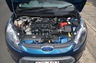 2010 Ford Fiesta WS LX Blue 5 Speed Manual Hatchback