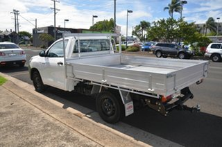2017 Toyota Hilux TGN121R MY17 Workmate White 5 Speed Manual Cab Chassis