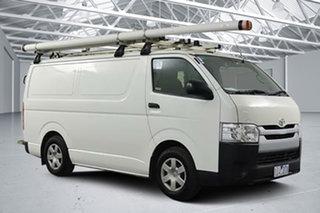 2016 Toyota HiAce KDH201R MY15 LWB Vanilla White 4 Speed Automatic Van.