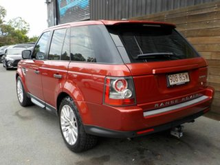 2011 Land Rover Range Rover Sport L320 11MY TDV6 Red 6 Speed Sports Automatic Wagon