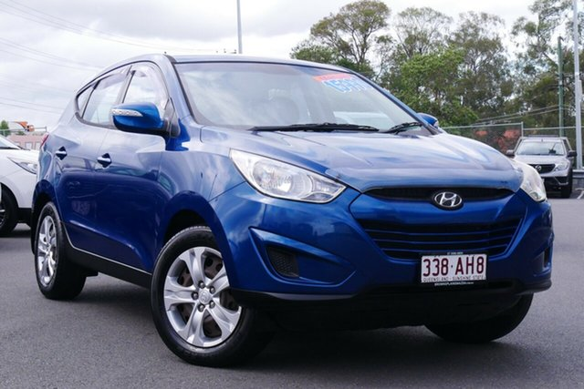 Used Hyundai ix35 LM MY12 Active Hillcrest, 2012 Hyundai ix35 LM MY12 Active Blue 5 Speed Manual Wagon