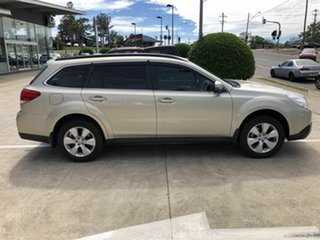 2012 Subaru Outback B5A MY12 2.5i Lineartronic AWD Gold 6 Speed Constant Variable Wagon