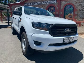 2018 Ford Ranger PX MkII 2018.00MY XL White 6 Speed Sports Automatic Cab Chassis.