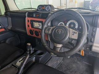 2014 Toyota FJ Cruiser GSJ15R MY14 Orange 5 Speed Automatic Wagon
