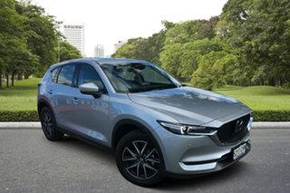 2020 Mazda CX-5 KF4WLA GT SKYACTIV-Drive i-ACTIV AWD Sonic Silver 6 Speed Sports Automatic Wagon.