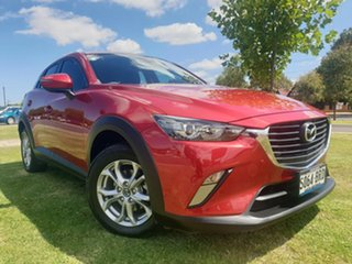 2017 Mazda CX-3 DK2W7A Maxx SKYACTIV-Drive Red 6 Speed Sports Automatic Wagon