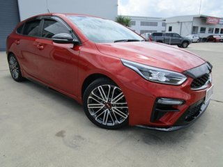 2019 Kia Cerato BD MY19 GT DCT Orange 7 Speed Sports Automatic Dual Clutch Hatchback.