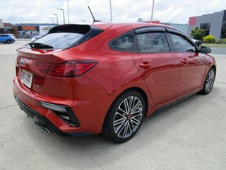 2019 Kia Cerato BD MY19 GT DCT Orange 7 Speed Sports Automatic Dual Clutch Hatchback