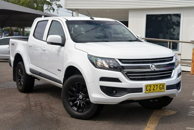 Used Holden Colorado RG MY17 LS Crew Cab 4x2 North Gosford, 2017 Holden Colorado RG MY17 LS Crew Cab 4x2 White 6 Speed Sports Automatic Cab Chassis