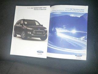 2015 Ford Territory SZ MkII TX Seq Sport Shift AWD White 6 Speed Sports Automatic Wagon.
