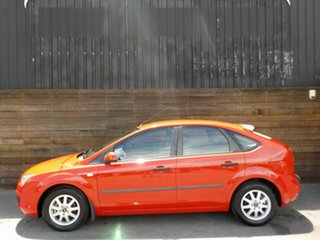 2005 Ford Focus LS CL Red 4 Speed Sports Automatic Hatchback