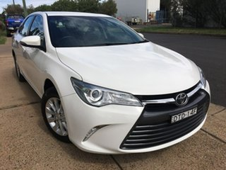 2017 Toyota Camry ASV50R Altise White Sports Automatic.