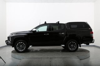 2019 Mitsubishi Triton MR MY19 GLS (4x4) Black 6 Speed Automatic Double Cab Pick Up