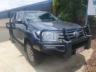 2017 Toyota Hilux GUN126R SR Double Cab 6 Speed Manual Cab Chassis.