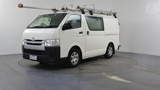 2017 Toyota HiAce KDH201R MY16 LWB White 4 Speed Automatic Van.