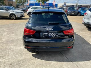 2015 Audi A1 8X MY15 Sport Sportback S Tronic Black 7 Speed Sports Automatic Dual Clutch Hatchback