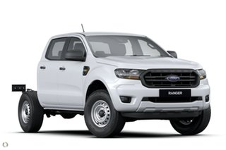 2020 Ford Ranger PX MkIII 2021.25MY XL Hi-Rider White 6 Speed Sports Automatic Super Cab Chassis.