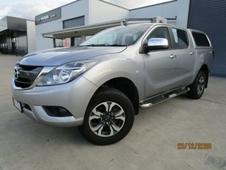 2017 Mazda BT-50 UR0YG1 XTR Aluminium 6 Speed Manual Utility.