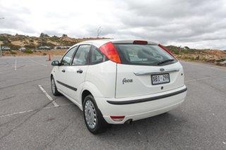 2004 Ford Focus LR MY2003 CL White 4 Speed Auto Hatchback