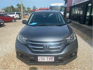 2014 Honda CR-V 30 MY14 DTI-S (4x4) Grey 5 Speed Automatic Wagon.