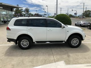 2015 Mitsubishi Challenger PC (KH) MY14 White 5 Speed Sports Automatic Wagon.