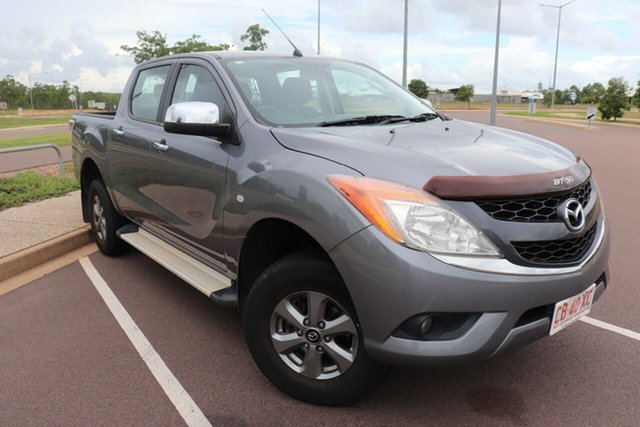 Pre-Owned Mazda BT-50 UP0YF1 XTR 4x2 Hi-Rider Palmerston, 2014 Mazda BT-50 UP0YF1 XTR 4x2 Hi-Rider 6 Speed Automatic Dual Cab Utility
