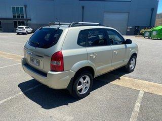 2007 Hyundai Tucson JM City Gold 4 Speed Sports Automatic Wagon