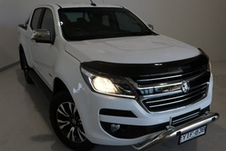 2017 Holden Colorado RG MY18 LTZ Pickup Crew Cab White 6 Speed Sports Automatic Utility.