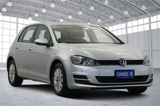 2016 Volkswagen Golf VII MY17 92TSI DSG Trendline Reflex Silver 7 Speed Sports Automatic Dual Clutch.