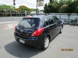 2006 Nissan Tiida C11 ST-L Black 6 Speed Manual Hatchback