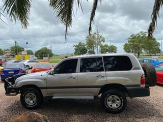 2001 Toyota Landcruiser HZJ105R GXL Silver 5 Speed Manual Wagon