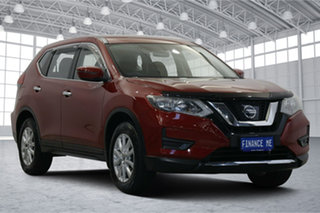 2018 Nissan X-Trail T32 Series II ST X-tronic 2WD Burgundy 7 Speed Constant Variable Wagon.