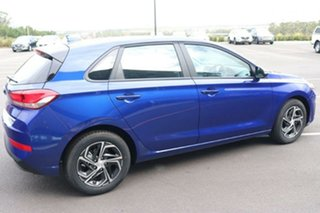 2020 Hyundai i30 PD.V4 MY21 Intense Blue 6 Speed Sports Automatic Hatchback.