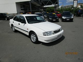 2002 Toyota Avalon MCX10R MK2 Sorrento White 4 Speed Automatic Sedan.