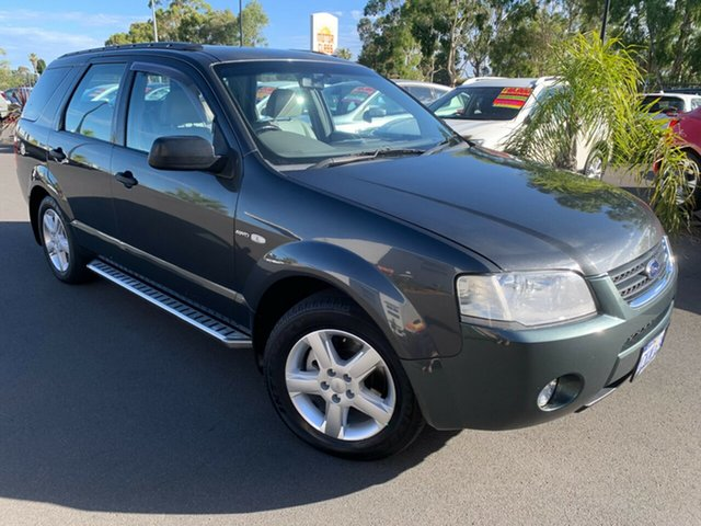 Used Ford Territory SY TS AWD Bunbury, 2006 Ford Territory SY TS AWD Grey 6 Speed Sports Automatic Wagon