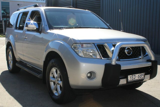Used Nissan Pathfinder R51 Series 4 ST-L (4x4) West Footscray, 2011 Nissan Pathfinder R51 Series 4 ST-L (4x4) 5 Speed Automatic Wagon