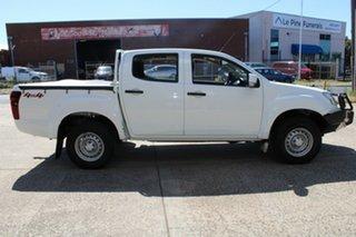 2016 Isuzu D-MAX TF MY15 SX (4x4) White 5 Speed Automatic Crew Cab Utility