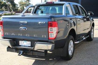 2012 Ford Ranger PX XLT 3.2 (4x4) Grey 6 Speed Automatic Dual Cab Utility